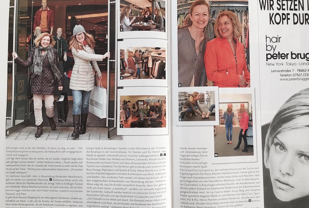 Personal Shopping – Von der Kunst der Kombination, Akzent Magazin März 2013