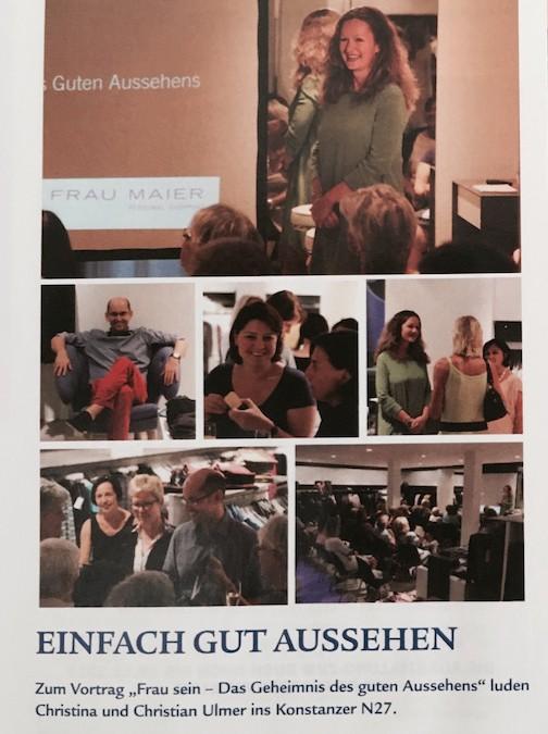 DRESS FOR SUCCESS, Akzent Magazin, Juni 2014