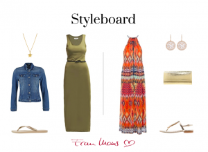 Styleboard Sommer Liebling