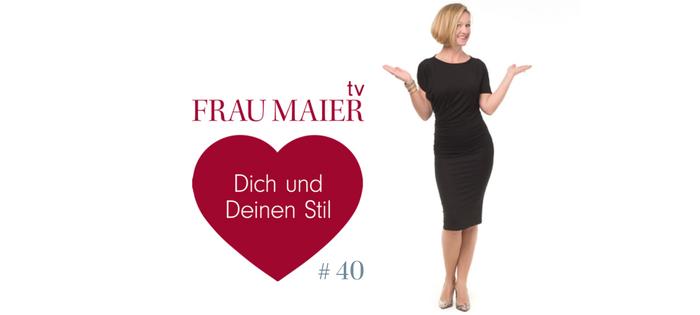 FRAU MAIER tv – Sommerkleid herbstlich stylen (Sonderausgabe)