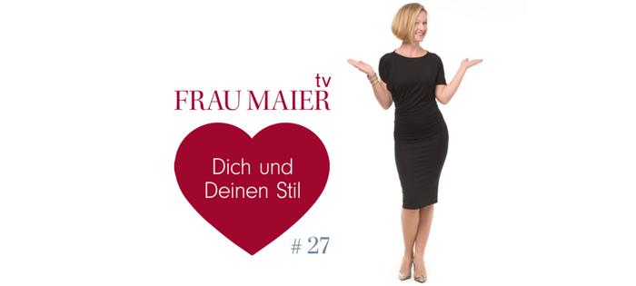 FRAU MAIER tv – Der Nr. 1 Grund für einen Schrank voll nix anzuziehen