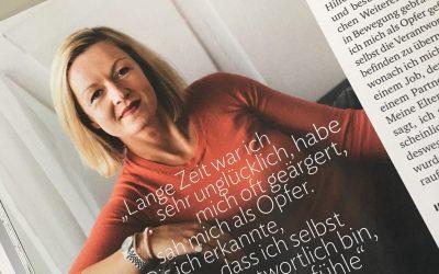 FRAU MAIERs persönliche Geschichte im Stern – Gesund Leben (November 2017)