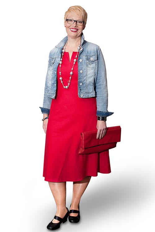 Moderne Stilberatung für Frauen - Lucia Nachher - FRAU MAIER
