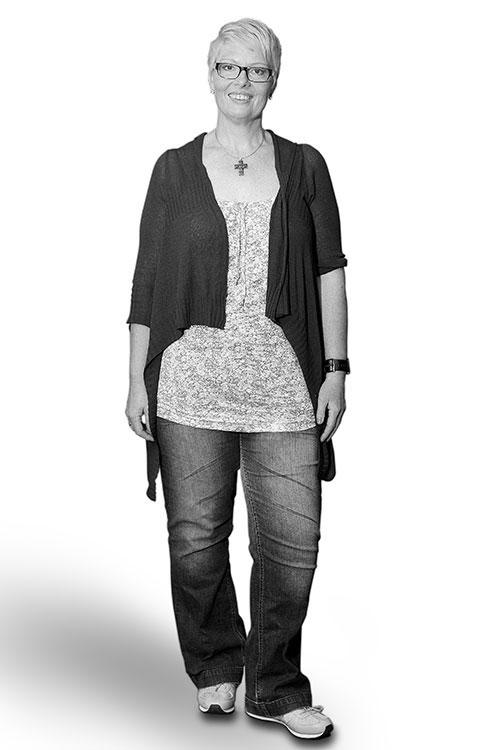 Moderne Stilberatung für Frauen - Lucia Vorher - FRAU MAIER